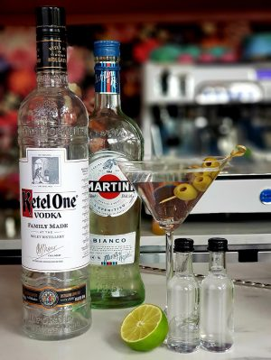 Post schiedam Vodka Martini